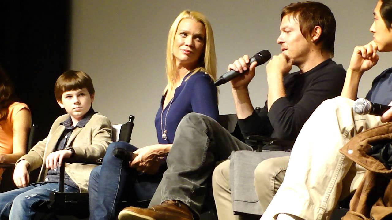 The Walking Dead Season 2 Cast Q And A For Sag W Jon Bernthal Sarah Wayne Callies 1mp4