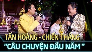 'Câu chuyện đầu năm'  Tấn Hoàng - Chiến Thắng mang không khí Tết lên sân khấu   Cặp đôi vàng Tập 6