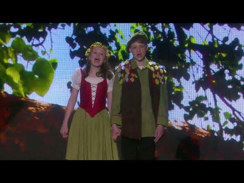 Aksel och Inga överraskar med sin opera i Stjärnornas stjärna 2018