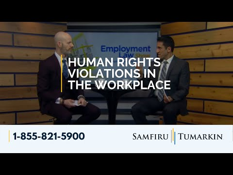 Human Rights Violations in the Workplace - Employment Law Show: S4E12