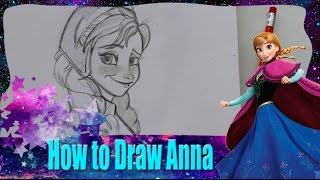 How to Draw ANNA from Disney