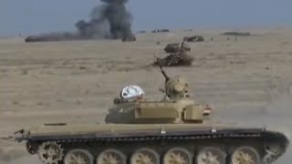 rpg 7 and t 72 live fire exercise in iraq
