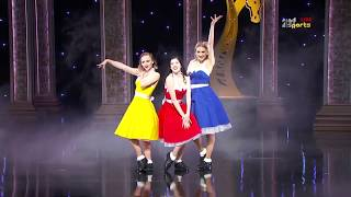 Tap That production at the Dolby Theatre Los Angeles - LA LA LAND - Darley Awards 2018