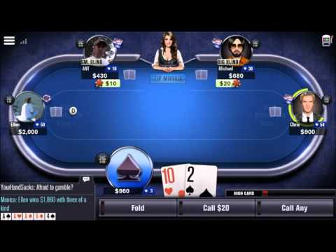 World Series of Poker – WSOP - Mobile Game - Gameplay - Poker App - Android - iPhone