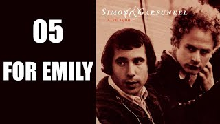 For Emily, Whenever I May Find Her, Live 1969, Simon & Garfunkel