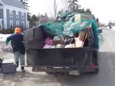 Recycling in Washington County , Maine