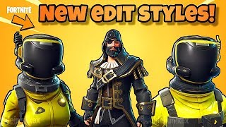 *NEW* EDIT STYLES FOR HAZARD AGENT, TOXIC TROOPER & BLACKHEART! Fortnite BR (NEW SKIN STYLES)