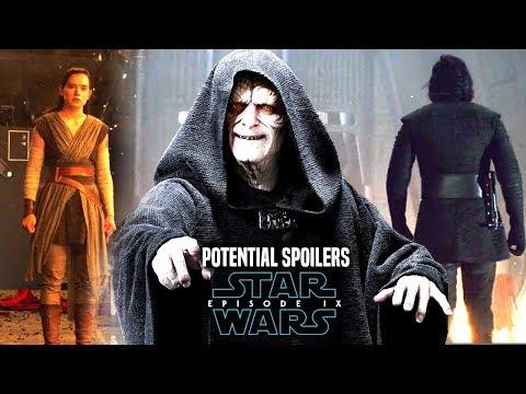 Star Wars Episode 9 Emperor Palpatine! Leaked Details Star Wars News