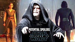 Star Wars Episode 9 Emperor Palpatine! Leaked Details (Star Wars News)