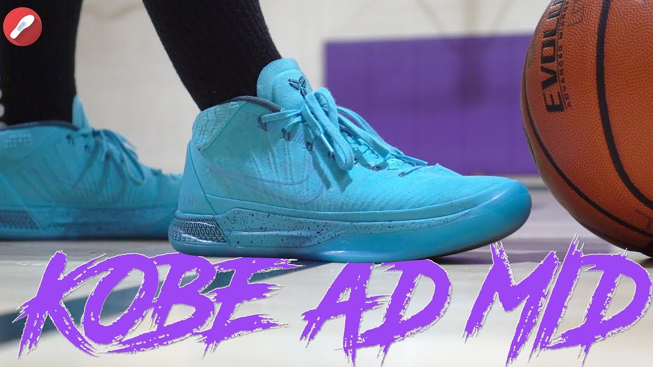 Haz un experimento entre Obligar  Nike Kobe A.D. Mid Performance Review! - YouTube