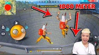 Một Lần Nữa Thử Nhảy Từ Độ Cao 1000 Meter Trên Nóc Tháp Thung Lũng Xuống Và Cái Kết | BUSS Gaming