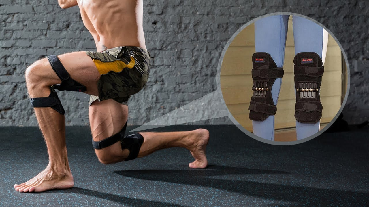 Power Knee Stabilizer Pads - Strong Lifting Power - Inspire