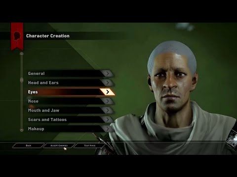 Dragon Age Inquisition Character Creation - An...
