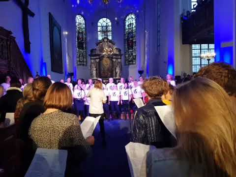 Heal the World performed at a Michael Jackson church service in Copenhagen.