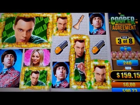 Big Bang Theory Slot Machine *BIG WIN* Bonus! - 동영상