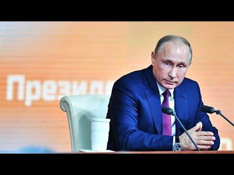 Ежегодная Большая пресс-конференция президента РФ Владимира Путина. Прямая трансляция