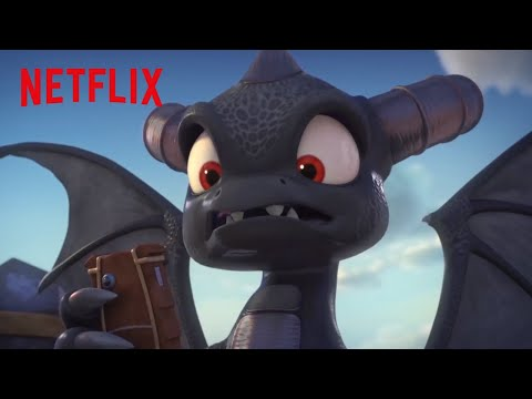 Dark Spyro Brainwashes the Academy | Skylanders Academy | Netflix