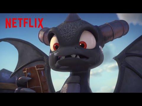 Dark Spyro Brainwashes the Academy   Skylanders Academy   Netflix