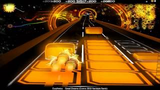 Audiosurf: Eurythmics - Sweet Dreams (Conrox 2009 Hardstyle Remix)
