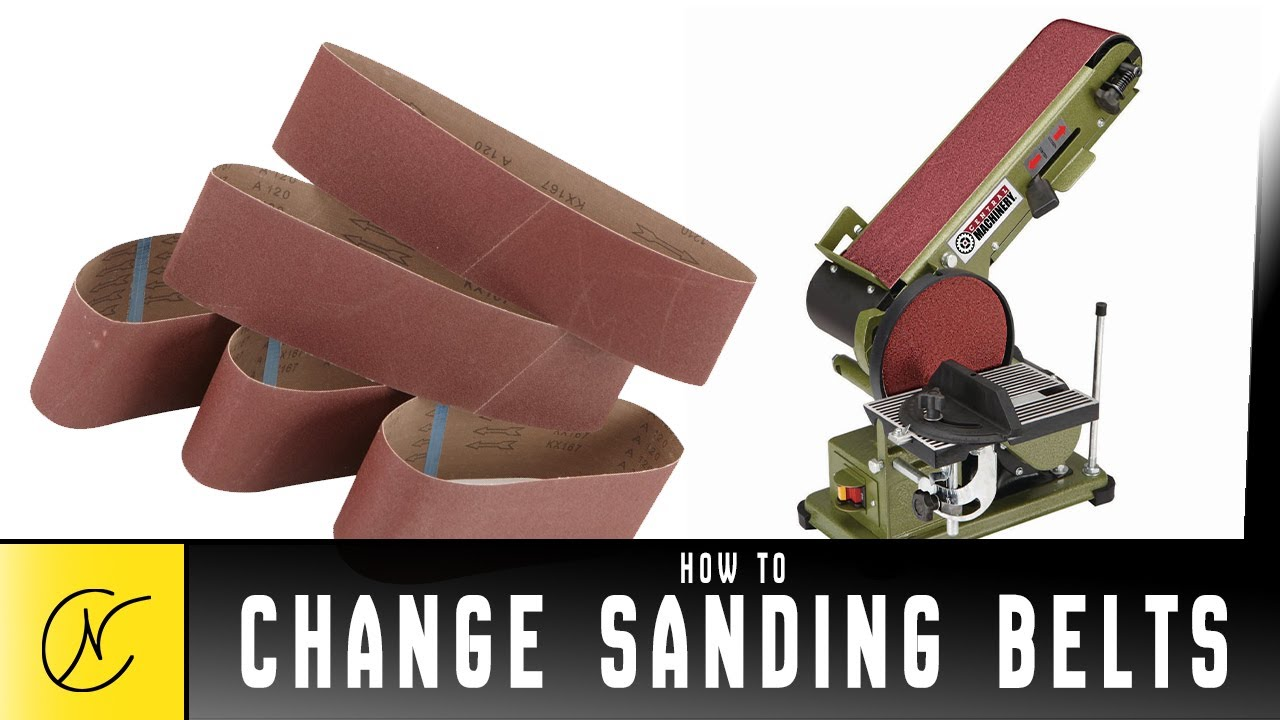 how to use a disc sander