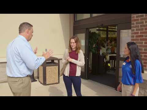 Playing a Store Manager for an OKC Company Training Video.