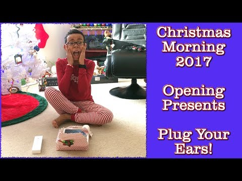 Christmas Morning 2017 - Did Santa Come? Opening Presents!