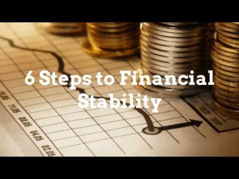 ***6 Steps to Financial Stability***