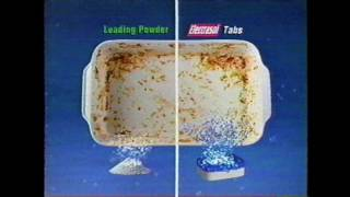 "Electrasol Dual Action Tabs ""No More Leftovers""  (2000) commercial"