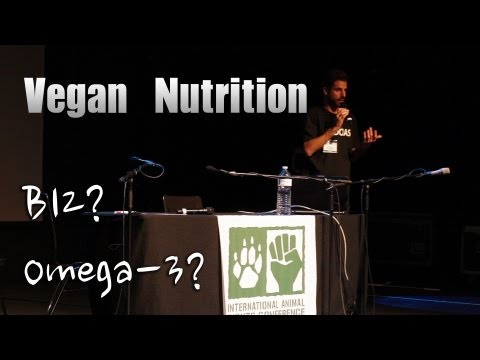 Vegan Nutrition, George Guimaraes at IARC 2013 Luxemborg