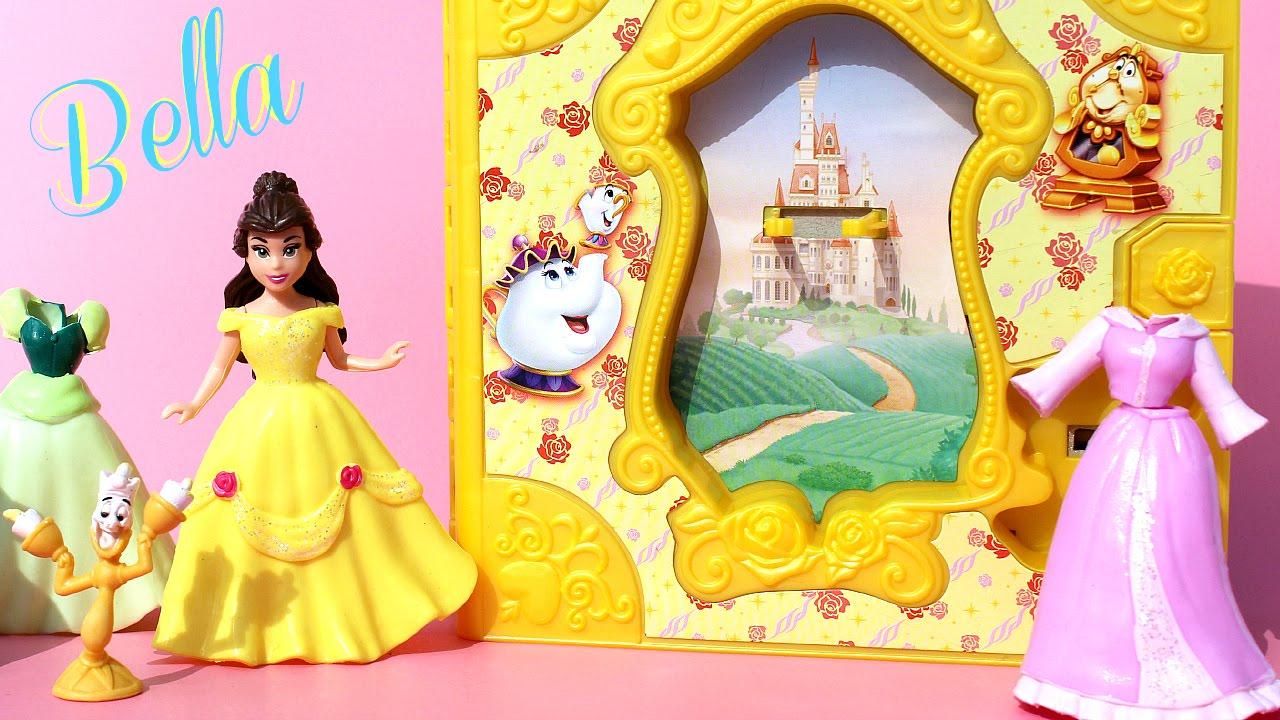 Princesa Bella Juego de vestir  Disney Princess Belle Storybook