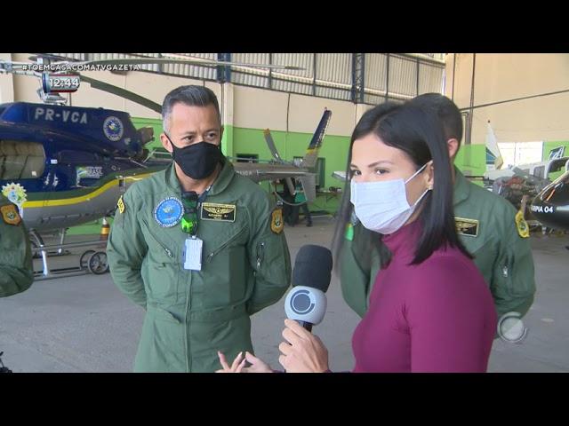 Centro Integrado de Operações Aéreas do Acre (CIOPAER) realiza treinamento com agentes de segurança