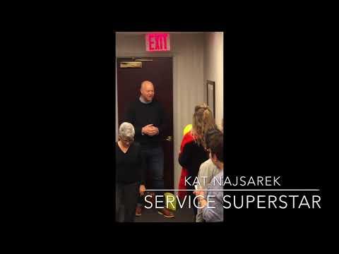 Kat = Service Superstar