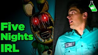 Can YOU Survive FNAF IRL? | Free Episode Game Lab FNAF