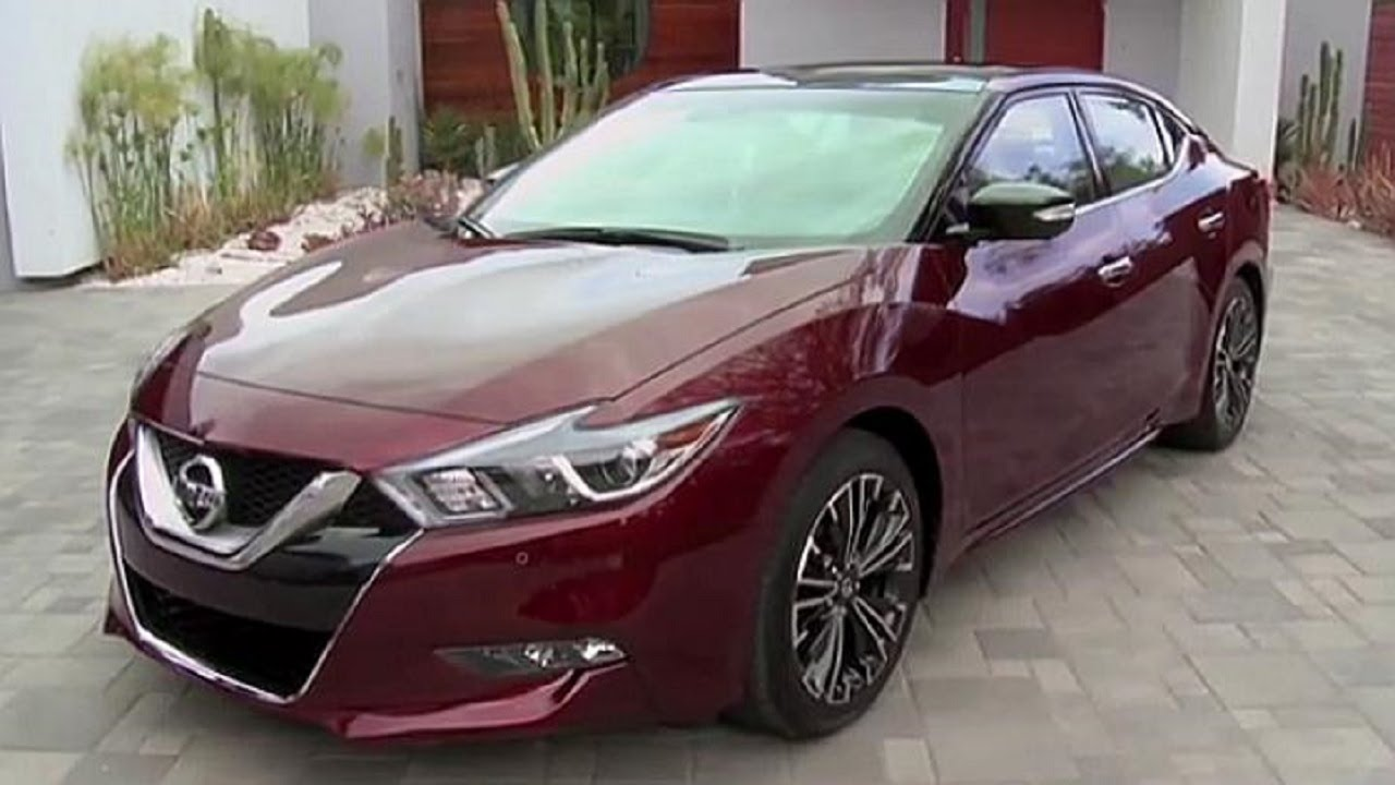 2015 Nissan Maxima >> 2016 Nissan Maxima Platinum Interior, Exterior and Driving Test - YouTube