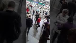 Так проходила эвакуация в офисном здании на Малышева,101