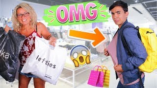 MY MOM BUYS MY OUTFITS FOR BACK TO SCHOOL ?!! JustJonathan