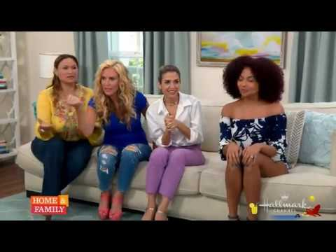 Ashley Everett Hallmark Channels Home and Family August 4 2017