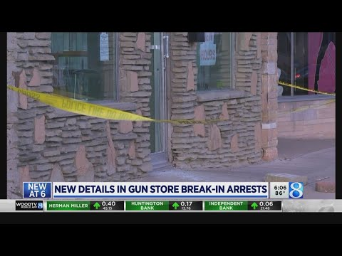 Boy, 14, among teens accused of gun shop thefts