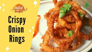 Tasty Onion Rings Recipe Indian Style