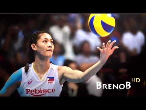 TOP 10 Best Actions by Jaja Santiago | JAJA SANTIAGO | Volleyball Middle Blocker ● BrenoB ᴴᴰ