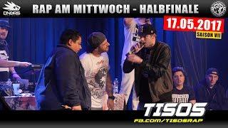 RAP AM MITTWOCH MÜNCHEN: 17.05.17 Halbfinale feat. TISOS, FESAS uvm. (3/4)