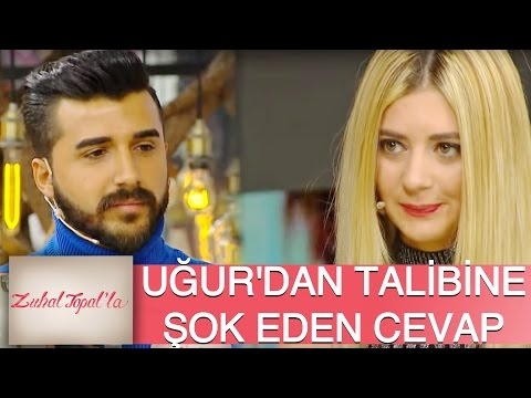 "Zuhal Topal'la 111. Bölüm (HD) | Yeni Talibinin Hangi Sözü Uğur'un ""Hayır"" Cevabına Sebep Oldu"