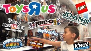 "Toys ""R"" Us Shopping (Episode 4) - Disney Infinity, Skylanders, K"