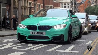 Supercars in London (Part 34) - Turqoise M4, MC Stradale, DBS & More!