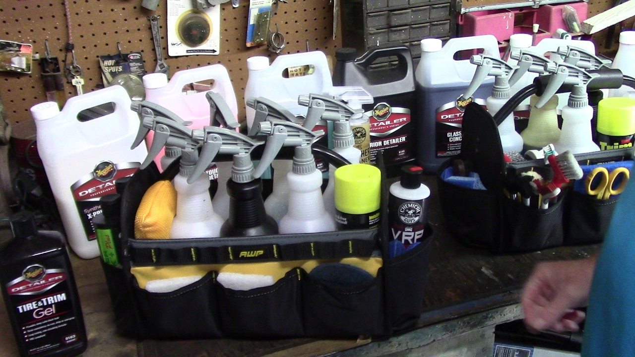 THE BEST TOOL BAG FOR AUTO DETAILING