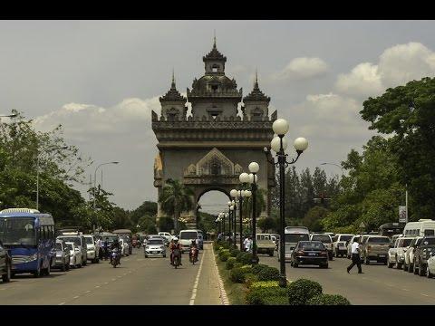 Walking in Vientiane, Laos 2017