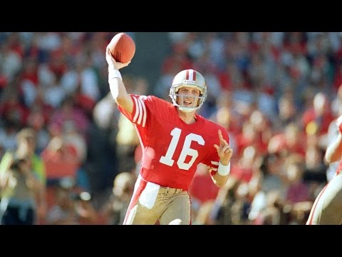 NFL Network Top 10: Joe Montana Named Top Clutch Quarterback of All Time
