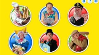 Mr Tumble Game something Special tumble tapp snap cbeebies
