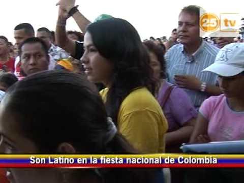 Fiestas patrias de Colombia en el Forum de Barcelona