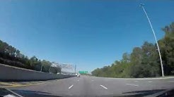 West Bound on JTB (J. Turner Butler Boulevard, Butler Boulevard) in Jacksonville, Florida